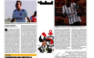 De malas prontas para a Seleção Sub-17, Vitinho é destaque no LANCE!