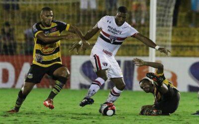 Jucilei faz sua estreia pelo São Paulo FC