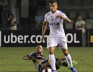 Após estreia pelo Santos, Matheus Oliveira fala com exclusividade ao Ge.com