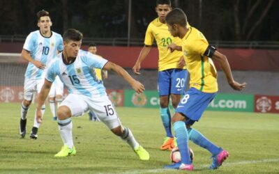 Com assistência de Vitinho, Brasil vence a Argentina e fecha primeira fase do Sulamericano