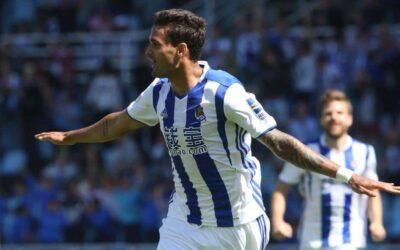 Willian José marca e Real Sociedad vence no Campeonato Espanhol