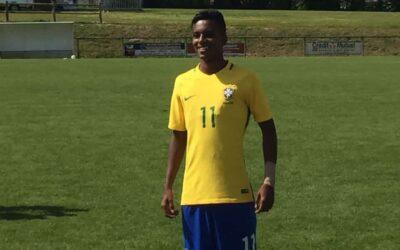 Rodrygo marca em três dos quatro jogos e termina como um dos artilheiros do Brasil Sub-17 na França