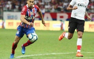 Antes do Ba-Vi pela Copa do Nordeste, Edigar Junio foi destaque no Jornal Correio
