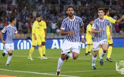 Atacante Willian José projeta estreia do 100% Real Sociedad na Liga Europa