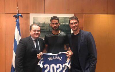 Atacante Willian José renova contrato com Real Sociedad até junho de 2022