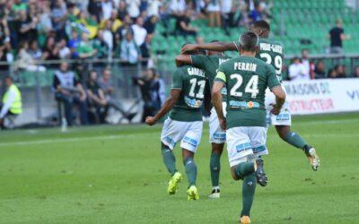 Lateral-esquerdo Gabriel Silva faz primeiro gol com a camisa do Saint-Étienne