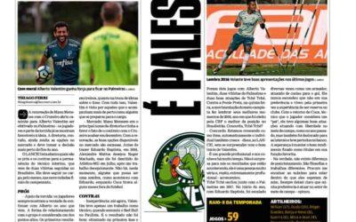 Em alta no Palmeiras, Tchê Tchê é personagem de matéria no LANCE!