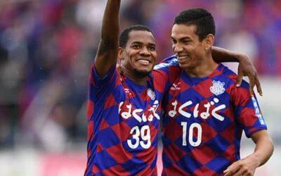 Em  boa fase no Kofu, atacante Lins marca e chega a quatro gols em sete jogos no Japão