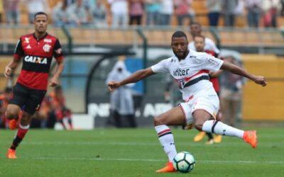 Titular, Jucilei comemora vitória do São Paulo sobre o Flamengo