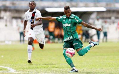 Fernando iguala ídolo Gabriel Jesus em gols pelo Palmeiras na Copinha e é destaque no Ge.com