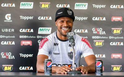 Relacionado, Carlos César falou com a imprensa e está de volta aos jogos no Atlético-MG