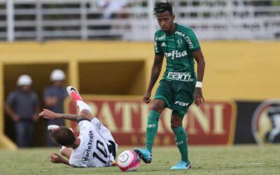 Tchê Tchê enfrenta primo em duelo do Palmeiras contra o Bragantino e é destaque no UOL