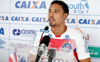 Atacante Edigar Junio ressalta confiança no Bahia antes de clássico contra o Vitória pelo estadual