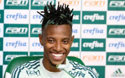 Prestes a completar 100 jogos pelo Palmeiras, Tchê Tchê agradece e garante busca por evolução