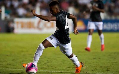 Aos 17 anos, Rodrygo faz história pelo Santos FC na Libertadores e revela novos sonhos
