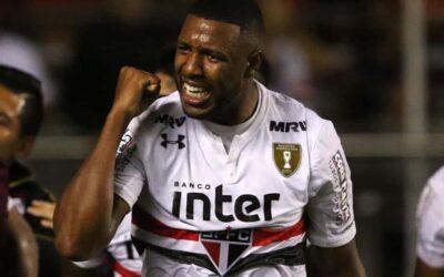 Ao Globo Esporte, Jucilei garante nova história em clássico do São Paulo diante do Corinthians