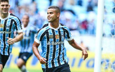 Alisson entra, marca e ajuda Grêmio a ficar mais perto do título do Campeonato Gaúcho