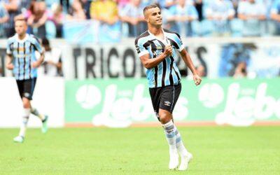 Após gol em decisão do Gaúcho pelo Grêmio, Alisson fala ao Sportv e vira destaque no Globo Esporte