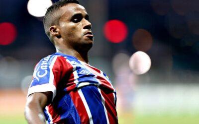 Élber desencanta e marca primeiro gol em goleada do Bahia sobre o Vasco