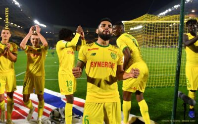 Nantes, do lateral Lima, goleia Toulouse no Francês