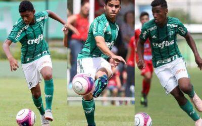 Com trio inspirado, Palmeiras goleia e está na final do Paulista Sub-13