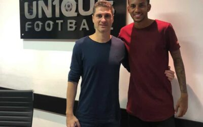 Zagueiro do Red Bull Brasil, Rayne é o novo cliente da Un1que Football