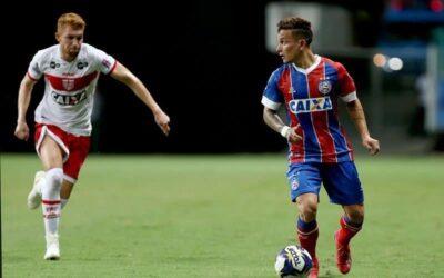 Logo na estreia pelo Bahia, Artur é eleito o 'Craque do jogo' pela Copa do Nordeste