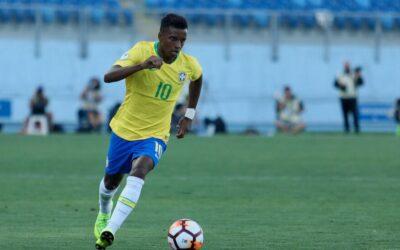 Rodrygo brilha, marca dois gols e Brasil vence a Venezuela no Sul-Americano Sub-20