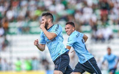 Marcelo Oliveira marca e abre caminho para goleada do Grêmio
