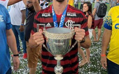 Rodrigo Caio é campeão da Taça Rio