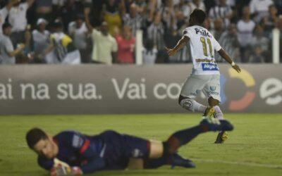 Após golaço e atuação destacada, Rodrygo concede entrevista coletiva no Santos
