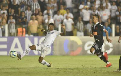 Em mais uma grande atuação de Rodrygo, Santos vence o Vasco pela Copa do Brasil