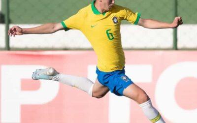 Patryck tem grande atuação e Seleção Brasileira Sub-17 bate o Chile em amistoso