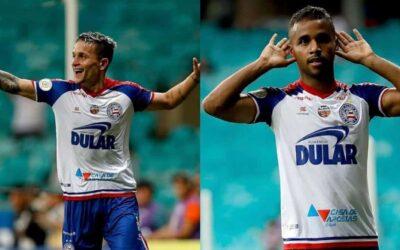 Artur e Élber marcam e brilham em mais uma vitória do Bahia