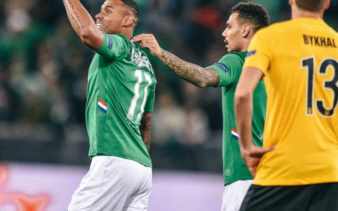 Gabriel Silva retorna aos gramados com gol em empate do Saint-Étienne na Liga Europa