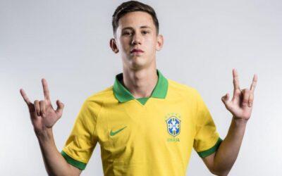 Às vésperas da estreia no Mundial Sub-17, Patryck é destaque no site da CBF