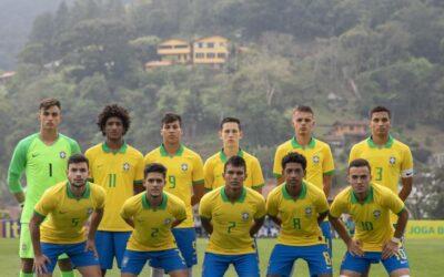 Com Patryck titular, Seleção Brasileira Sub-17 fecha preparação para o Mundial