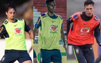 Trio Un1que Football já está em preparação com os respectivos grupos da Seleção Brasileira