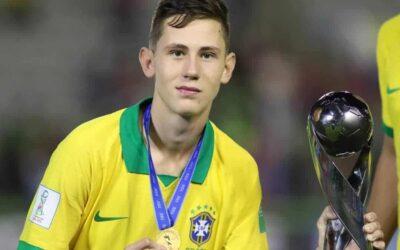 Um dos destaques da Seleção Brasileira, Patryck é campeão do Mundial Sub-17