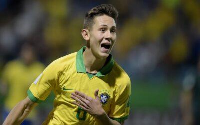 Após concussão, Patryck volta à Seleção Sub-17 e marca contra a Itália