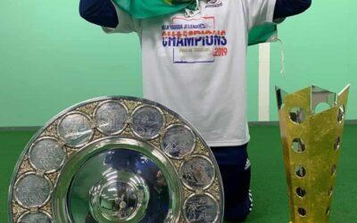 Na primeira temporada no Yokohama Marinos, Edigar Junio conquista Campeonato Japonês