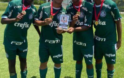 Com quarteto Un1que, Palmeiras bate São Paulo e conquista Festival DB Sub-14