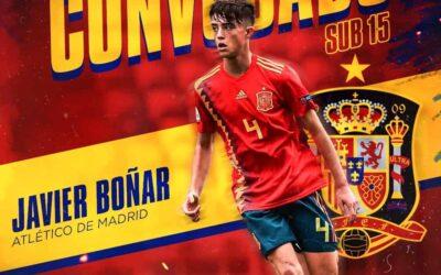 Javier Boñar é convocado para a Seleção Espanhola Sub-15