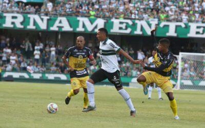 Titular do Coritiba, Igor Jesus projeta duelo com o Londrina pelo estadual