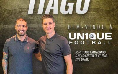 Tiago Campagnaro, nosso ex-atleta, volta à Un1que Football e é novo gestor de atletas
