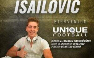 Atacante sérvio, Isailović é o novo cliente da Un1que Football