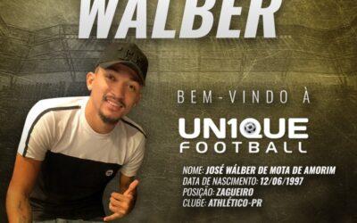 Wálber, zagueiro do Athletico-PR, é o novo cliente da Un1que Football