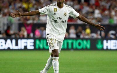 Potência, explosão e Seleção: as metas de Rodrygo para a temporada no Real Madrid
