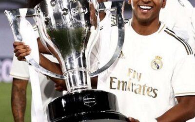 Rodrygo conquista o Campeonato Espanhol na primeira temporada pelo Real Madrid