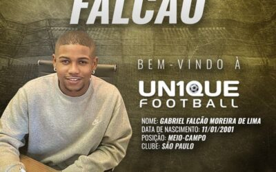 Falcão, meio-campista do São Paulo Sub-20, é o novo cliente da Un1que Football
